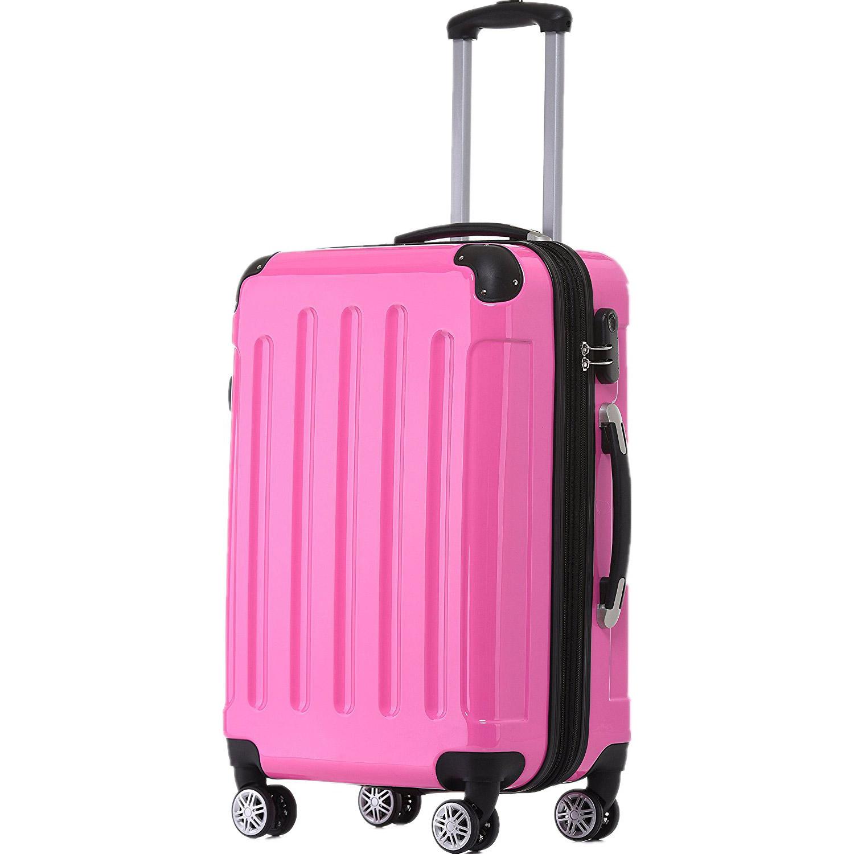 Rørig BEIBYE Pink Kuffert - Stor - RejseButikken.dk ZR-97